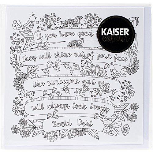 """Kaisercraft/""""Stocking KaiserColour Gift Card with Envelope 6/"""" x 6/"""""""