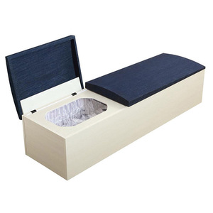 Wholesale Luxury Wooden Coffin with Liners