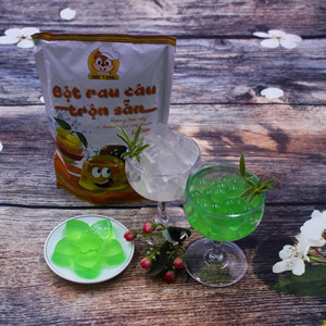 Original, Vanilla , Pandan flavor Instant jelly powder mix Soc Vang brand
