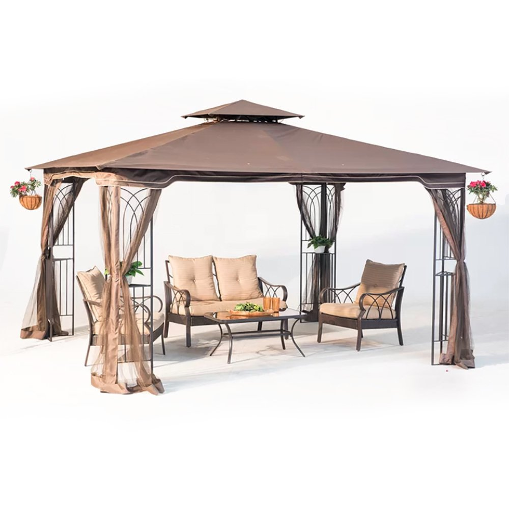 Get Quotations 10 X 12 Regency Ii Patio Gazebo With Mosquito Netting
