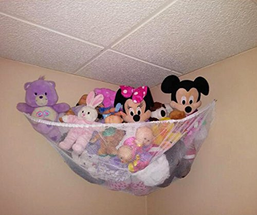 Get Quotations · Stuffed Animal Hammock, Powkoo Stuffed Toys Hammock Toy  Storage Net Organizer For Stuffed Animals,