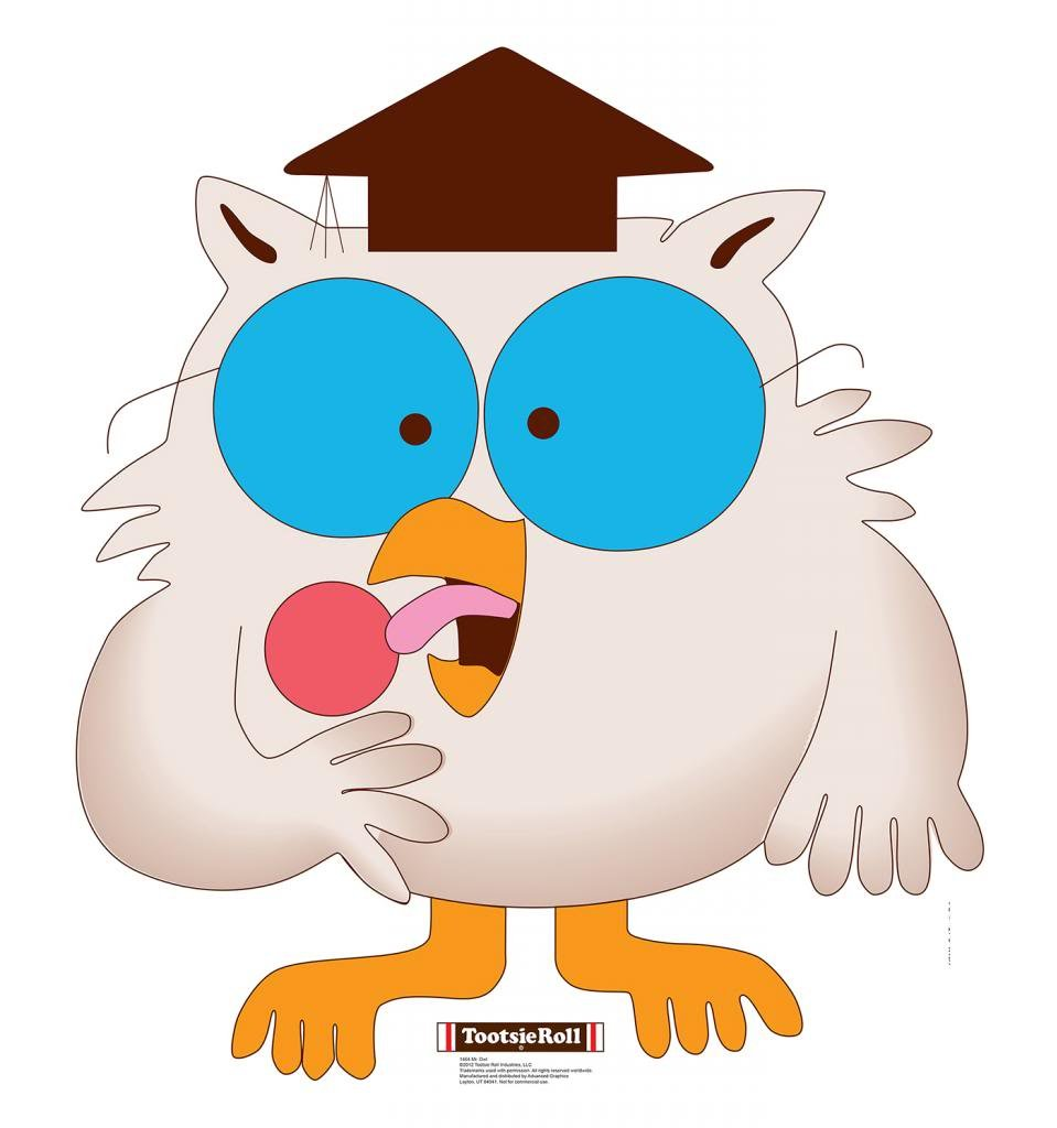 Mr. Owl - Tootsie Roll - Advanced Graphics Life Size Cardboard Standup
