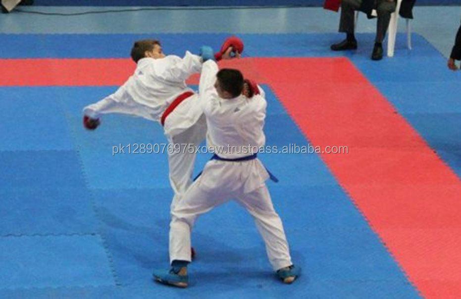 Adult Kids Tae Kwon Do Uniform Sportwear Taekwondo White Karate Costume 2 Model