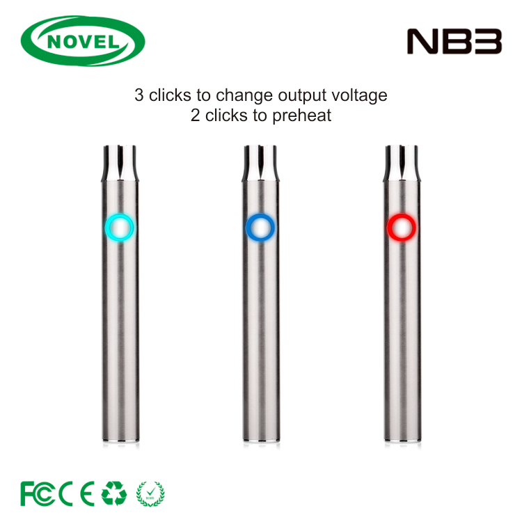 best selling products in america 2017 10.5mm buttonless battery, cbd vape pen buttonless cbd battery