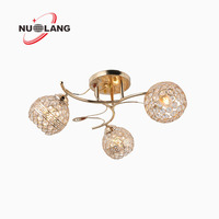 Zhongshan factory wholesale crystal chandelier for hotel decoration