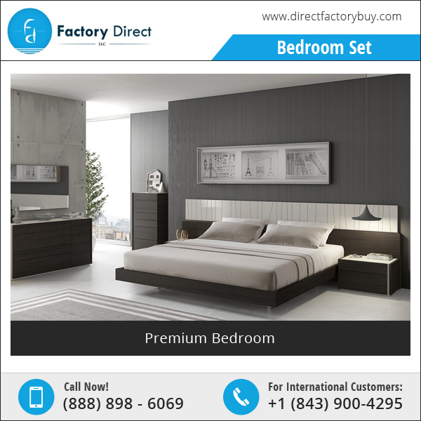 New Design Home Wooden Bedroom Furniture Set Manufacturer