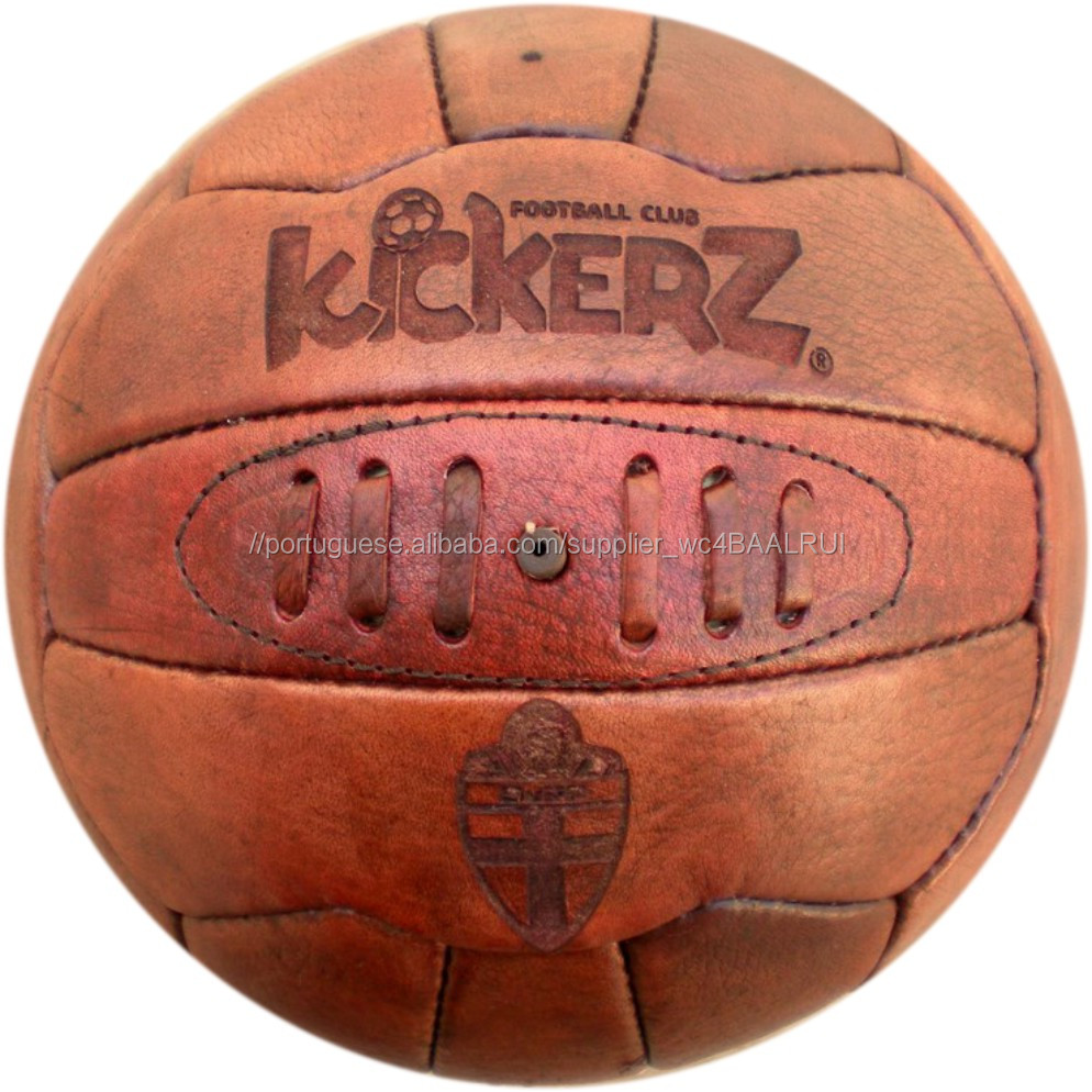 Bola de futebol Do Vintage antiquado tipo Inglês para promo-Futebol ... 3c28289b890da