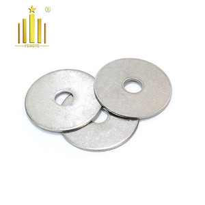 Free samples stainless steel DIN 125 metal flat washer