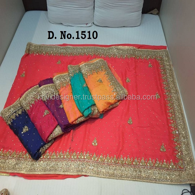 STONE WORK FANCY SAREES AT WHOLESALE PRICE