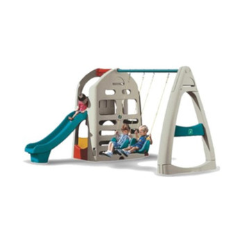 slide and swing set, cheap children playground for sale