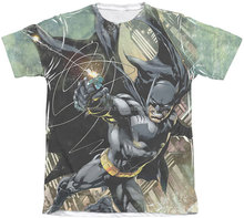 Hot Koop Super Hero Digitale Sublimatie Gedrukt T-Shirt
