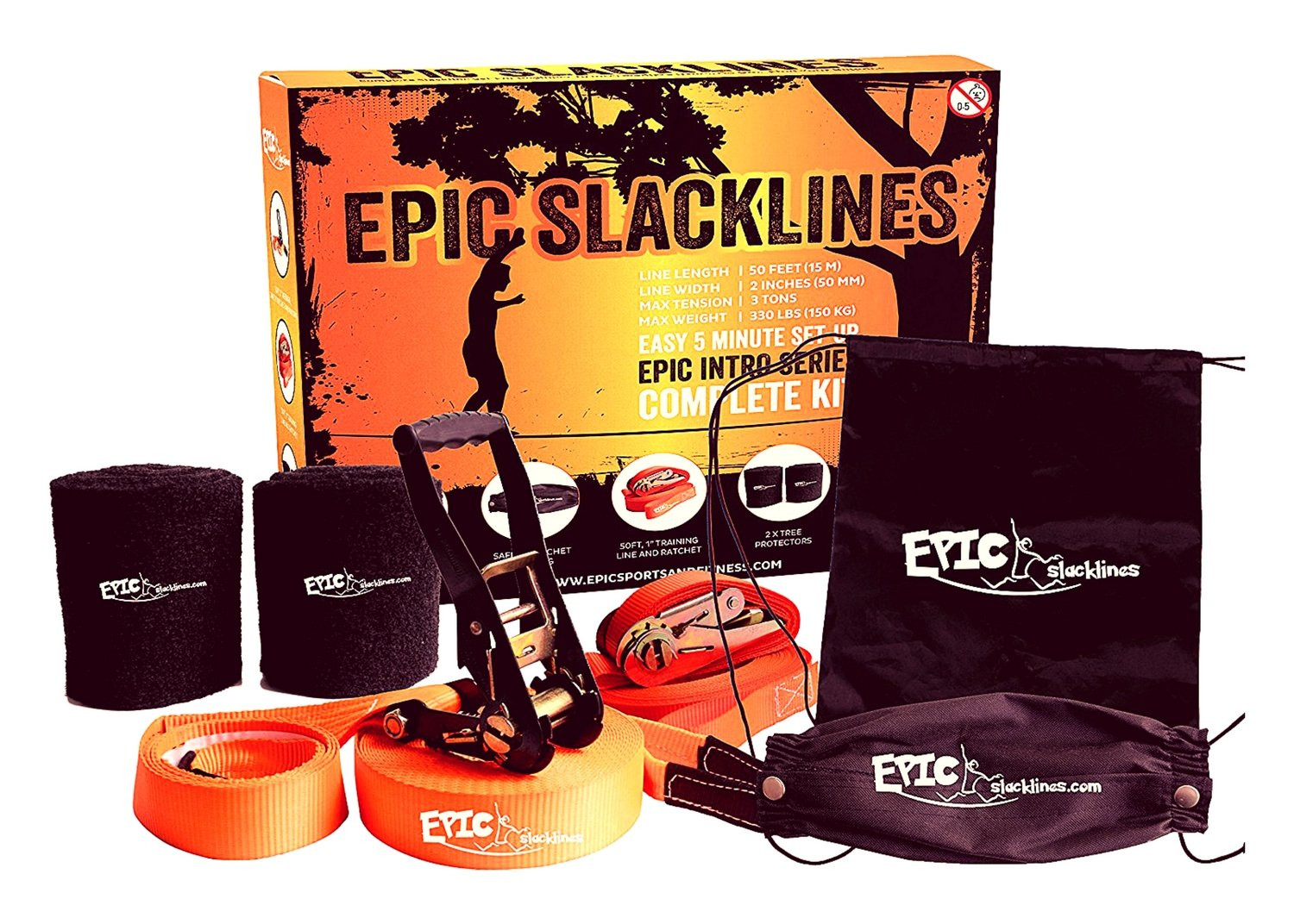 """EPIC SLACKLINE Set 