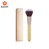 1PC Rose Gold Powder Blush Brush Professional Make Up Brush Large Cosmetics Makeup Brushes