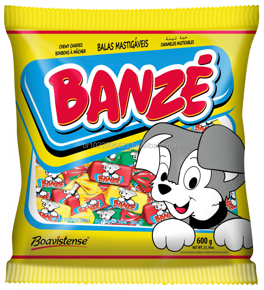Banze Zäh Candy, erdbeere, mint, ananas, greenapple, pfirsich, assorted