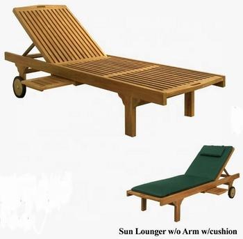 Sedie Sdraio Da Giardino Legno.Sedie Sdraio Da Spiaggia Solido Legno Di Teak Bali Giardino Esterno
