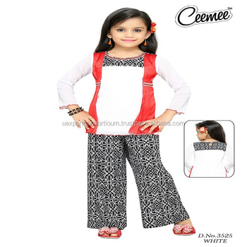 5eb794a78 Latest Stylish Girls Dresses -plazo Suit - Buy Girls Casual Plazzo Suit ...