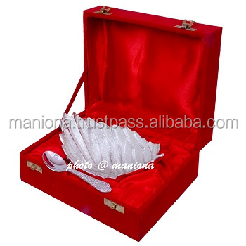 German Silver Wedding Gift Indian Handmade Traditional Gift Buy