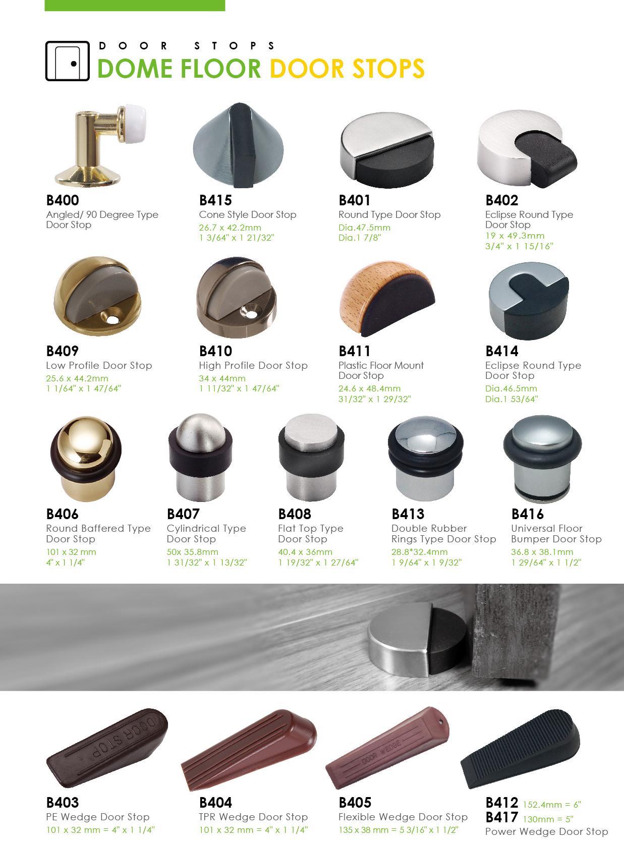Flexible Heavy Duty Rubber Door Stop Draft Wedge Taiwantrade Com