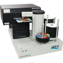CD DVD Disc Uitgever Geautomatiseerde 2-drive CD DVD Duplicatie Machine