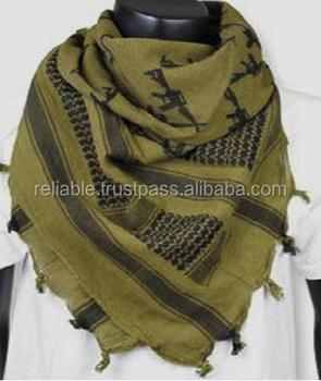 Army Military Gun Design Tactical Shemagh Scarf - Buy Gun Design ... 2ab63cc7868f