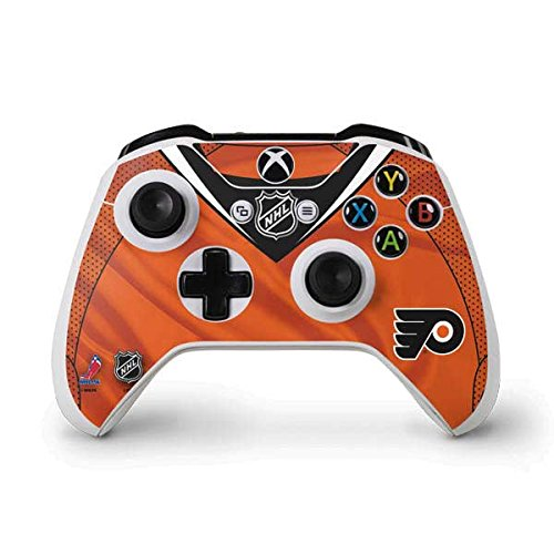 NHL Philadelphia Flyers Xbox One S Controller Skin - Philadelphia Flyers Jersey Vinyl Decal Skin For Your Xbox One S Controller