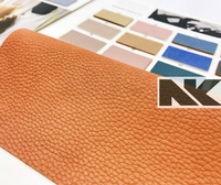 NK P087 PU litchi striped leather matched 6P environmental protection standard