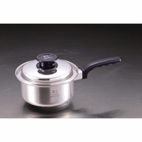 High quality pots and pans, stainless steel steamer pans truly made in Japan