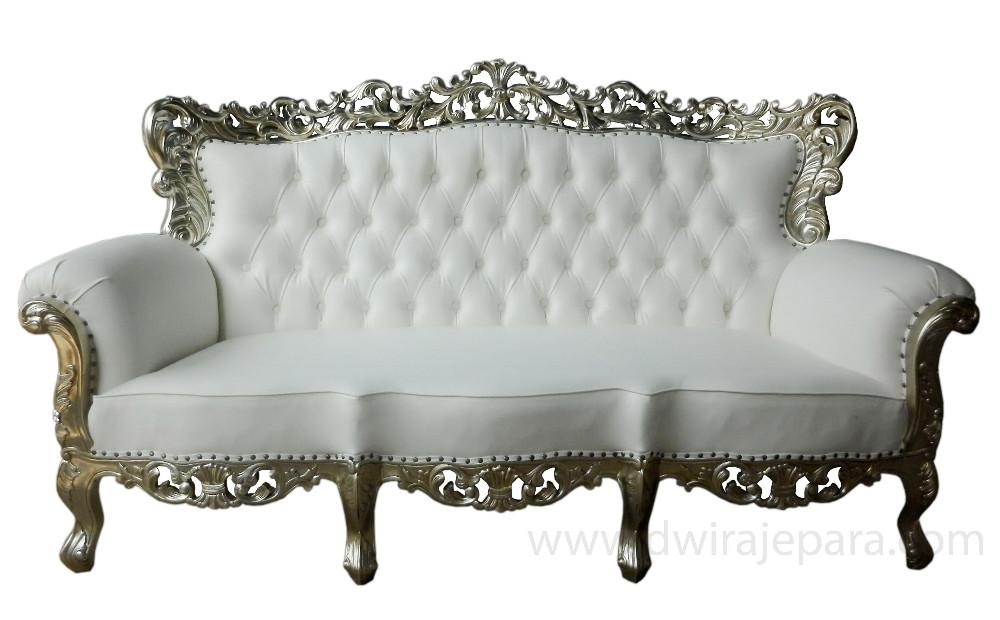Indonésie meubles de canapé baroque meubles 3 places meubles en