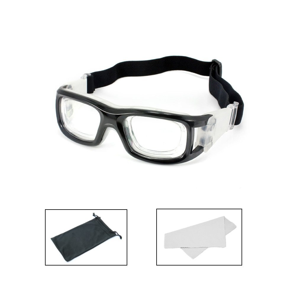 2470b01552c TEKCAM Unisex Sports Goggles Safety Protective Eyewear with Adjustable  Straps for Basketball Volleyball Football