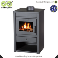 Small Smokeless Steel Wood Burning Pellet Stoves