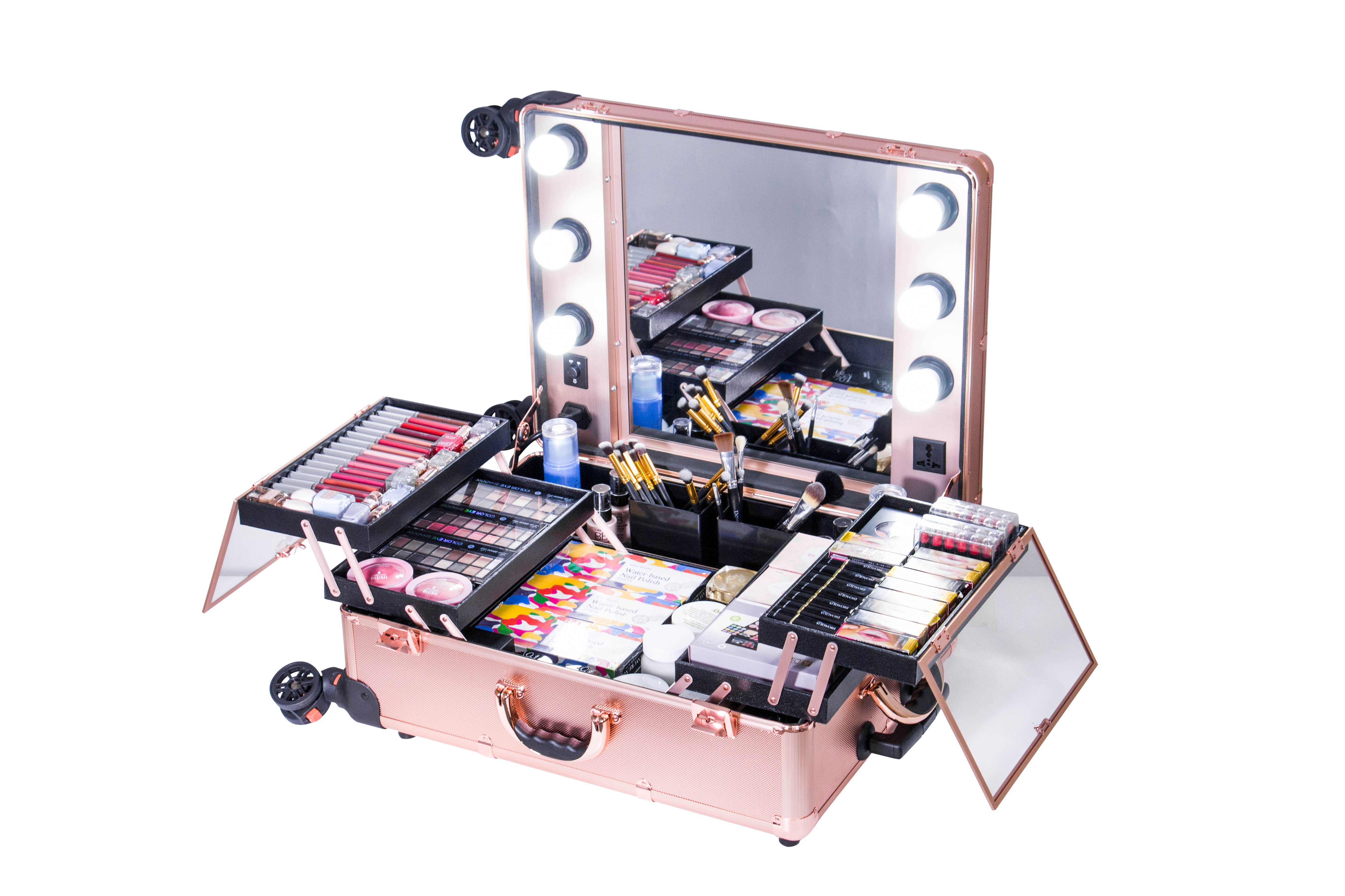 Best-Selling-Makeup-case-with-Lights-Wedding