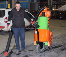 Battery Operated Electric Road Sweeper and Litter Picker