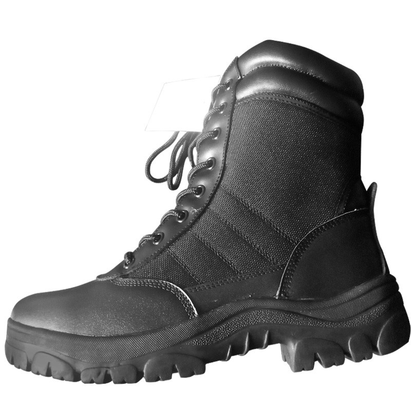 35eba752529e Panama lug sole cheap price black smooth cow leather military combat boots  for jungle condition