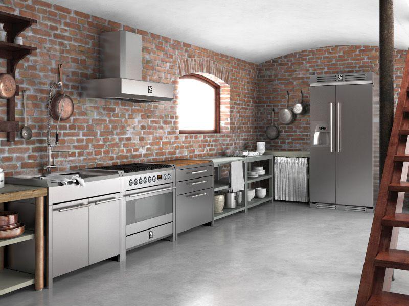 Модульный шкаф дизайн Нержавеющаясталь Кухня Кабинета kitchen cabinet-38.jpg