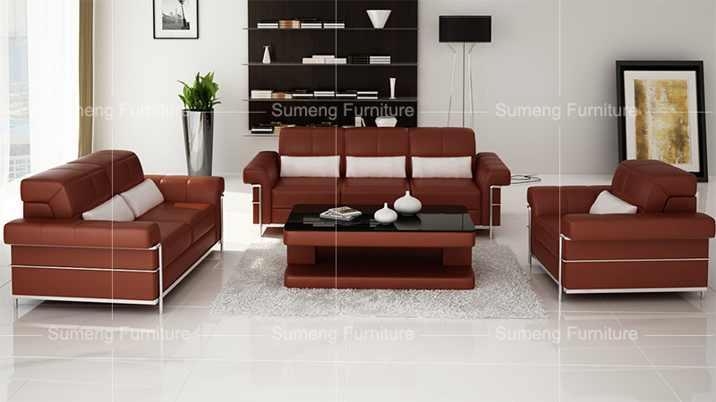 excellent quality best sell malaysia style office furniture small waiting  leather sofa, View small waiting sofa, SUMENG Product Details from Foshan  ...