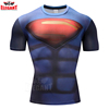 OEM 100% Polyester Colorful Sublimation super hero Print Custom Wholesale t-shirt printing