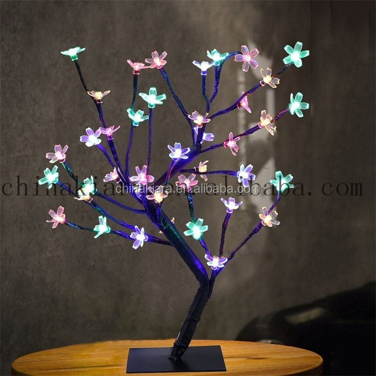 Factory supply battery operated 40LED cherry blossom tree