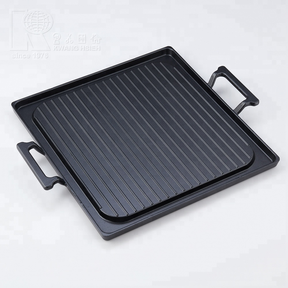 Kwang Hsieh Teflon Lapisan Non Stick Steak Griddle Pan