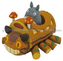 Ghibli characters Pull-back collection Toy Totoro