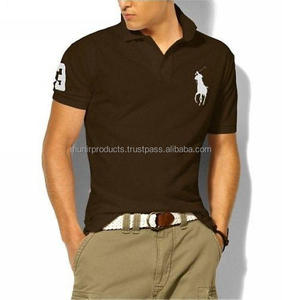 Customized 100%cotton custom logo work polo t shirts