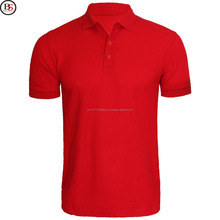 Wholesale custom high quality dry fit cotton polyester mens golf polo shirts