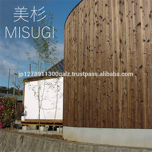 Factory Direct Yakisugi MISUGI Siding Exterior Walll Material From Japan