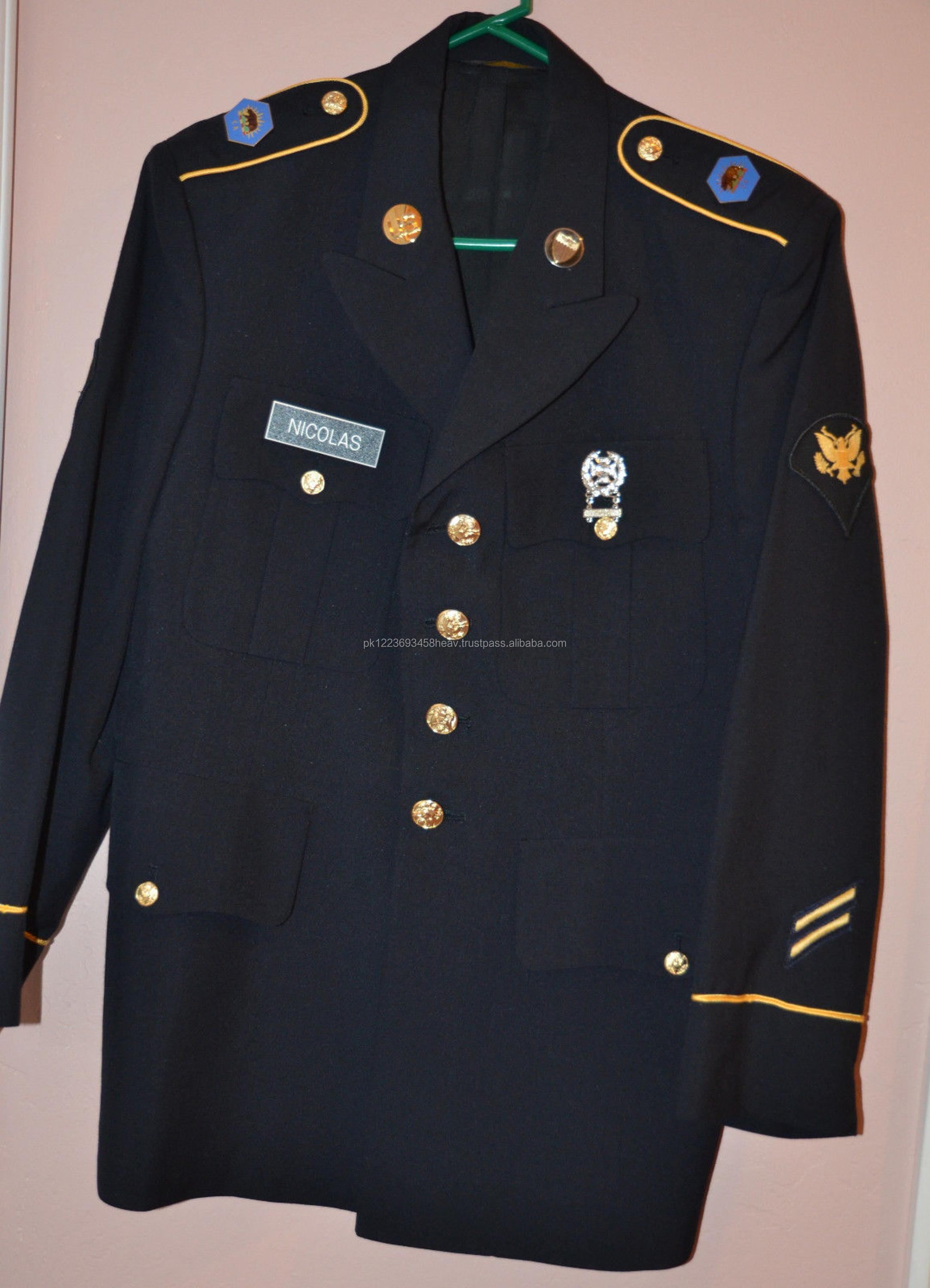 Us Army Military Dress Blue Jacket Uniform Coat Reproduction All ...