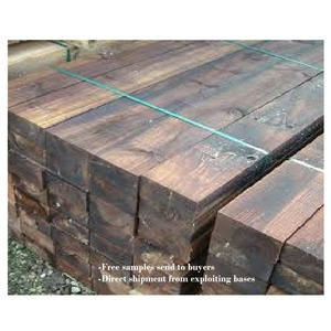 Railway Sleepers Or Azobe Hardwood