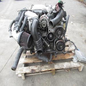 JDM USED ENGINE WITH GEARBOX MAZDA RX7 FD3S 13B-TT Twin Engine 13BTT Engine  1 3L Rotary Motor 13BT