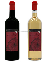 White wine - De Broff - Portuguese white wine - also available as red and rose wine
