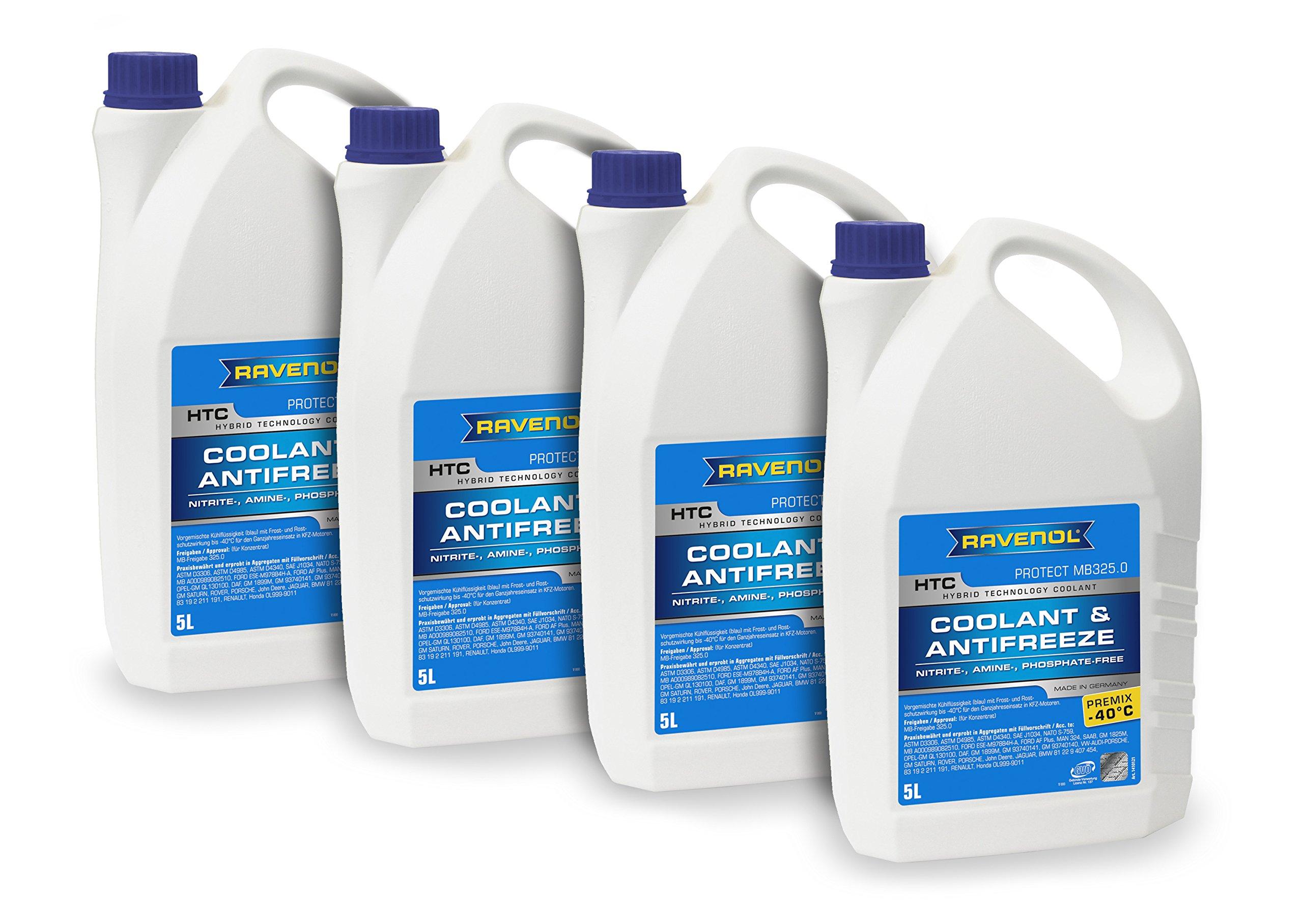 Buy Ravenol J4d2023 1 04 Coolant Antifreeze Htc Premix Mb 3250 Land Rover Vw Tl