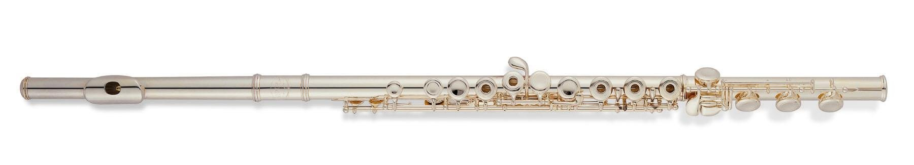 Jupiter Intermediate Open Hole Sterling Silver C Flute with Offset G 611RBSO