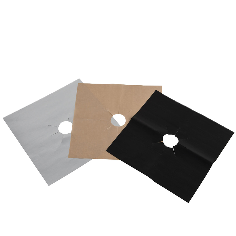Easy cleaning high temperature resistance gas range stove burner cover Protectors