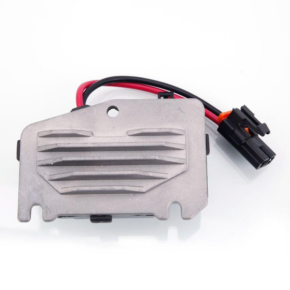 Get Quotations · AC Blower Motor Resistor Regulator For 1997-2004 Buick  Century Chevrolet Corvette 89019166